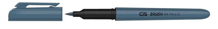 Marcador Brush Metallic Azul - Cis