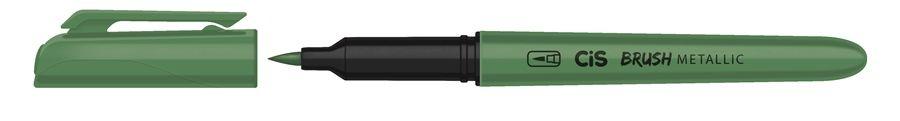 Marcador Brush Metallic Verde - Cis