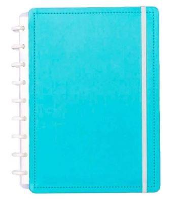 Caderno Inteligente Medio Azul Celeste-caderno Int