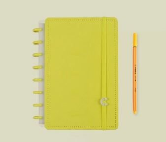Caderno Inteligente A5 All Yellow - Caderno Int