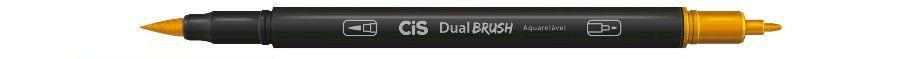 Marcador Dual Brush Aquarelavel 19 Laranja - Cis