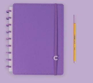 Caderno Inteligente Medio All Purple - Caderno Int