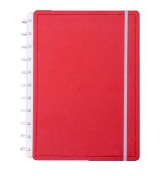 Caderno Inteligente Medio Vermelho Cereja-caderno