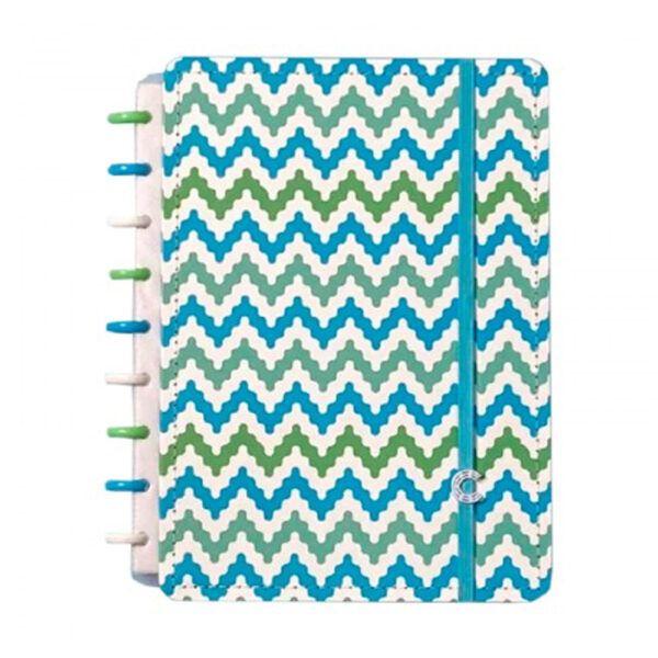 Caderno Inteligente Medio Waves - Caderno Intelige
