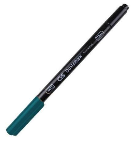Marcador Dual Brush Aquarelavel 54 Az Oceano - Cis