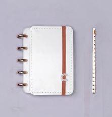 Caderno Inteligente Pequeno All White-caderno Inte