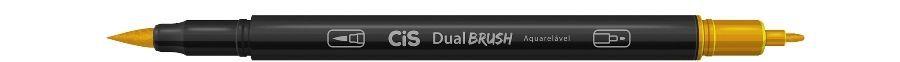 Marcador Dual Brush Aquarelavel 30 Caramelo - Cis