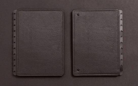 Capa E Contracapa Medio Preto - Caderno Inteligent