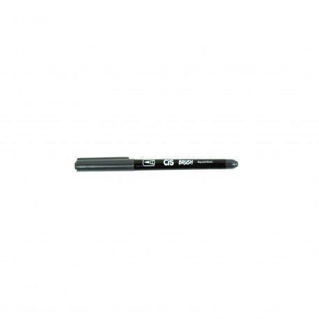 Marcador Brush Aquarelavel 02 Cinza Escuro - Cis