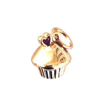 Pingente Cupcake - Caderno Inteligente