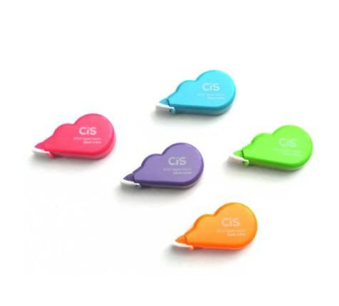 Fita Corretiva 5mmx4m Mini Tape Neon - Cis