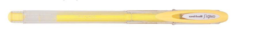 Caneta Gel 0,7mm Signo Angelic Color Amarela - Uni