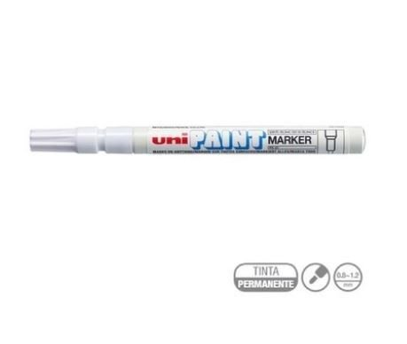 Marcador Permanente 1.2mm Paint Branco - Uni Ball