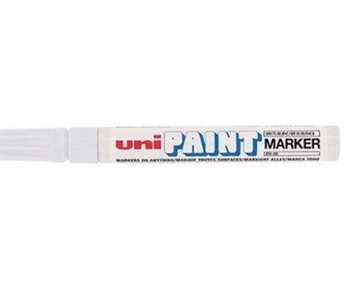 Marcador Permanente 2,8mm Paint Branco - Uni Ball