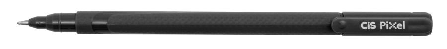 Caneta Esferografica 1,0mm Pixel Preta - Cis