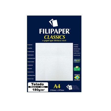 Papel A4 180g 20f Decor Bastonete Rs/br -filipaper
