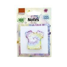 Bloco Smart Notes Layers Tie Dye Branco - Brw