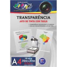 Papel A4 150g 10fls Transparencia - Off Paper