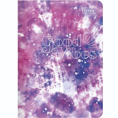 Caderneta Gramp 32f Good Vibes - Tilibra