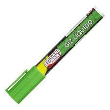 Giz Liquido 4g 6mm Verde - Brw