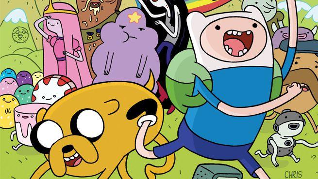 Borracha Adventure Time - Tilibra
