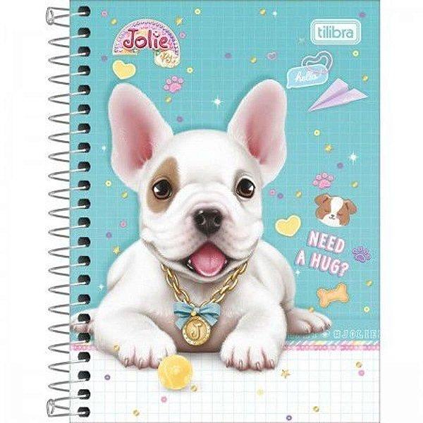Caderneta Esp Cd 1/8 80f Jolie Pet - Tilibra