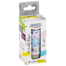 Fita Adesiva C/5 15mmx5m Washi Tape Cute - Brw