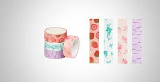 Fita Adesiva 15mmx3m Washi Tape C/cheiro - Brw