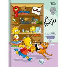 Caderno Broc Cd 1m 48f The Simpsons - Tilibra