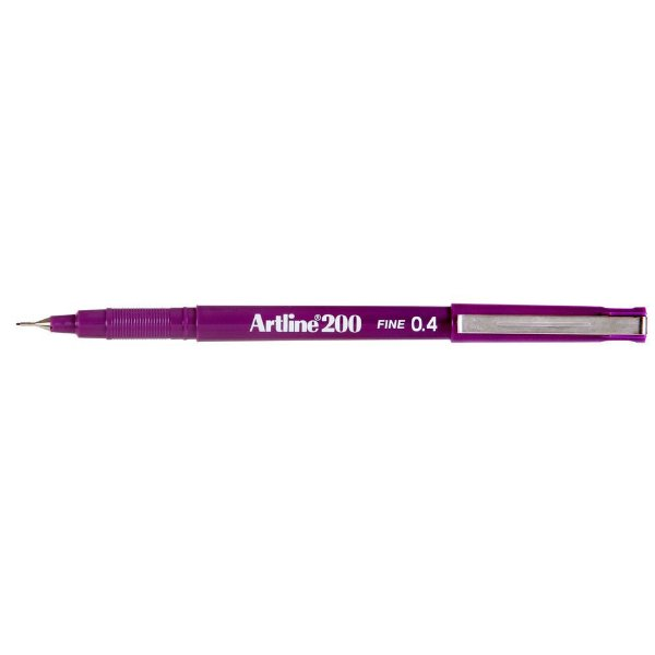 Caneta 0,4mm Ek200 Artline Magenta - Tilibra