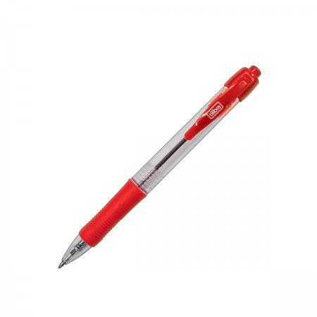 Caneta 1.0mm Easy Grip Vermelha - Tilibra