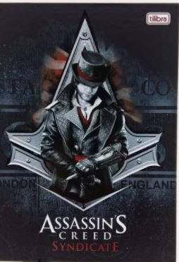 Caderno Broc Cd 1m 96f Assassins Creed - Tilibra