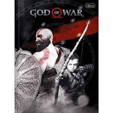 Caderno Broc Cd 1m 96f God Of War - Tilibra