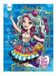Caderno Broc Cd 1m 96f Ever After High - Tilibra
