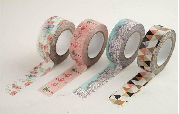 Fita Adesiva Stand Washi Tape - Tilibra