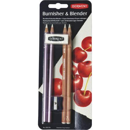 Kit C/6 Lapis Blender E Burnisher - Derwent