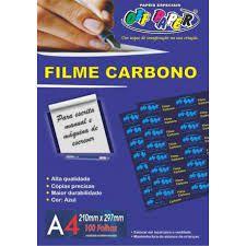 Filme A4 Carbono 100fls - Off Paper