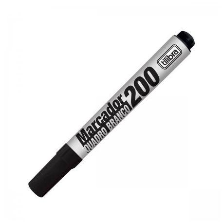 Marcador Quadro Bco N/200 Preto - Tilibra