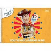 Caderno Esp Cd Cartografia 80f Toy Story - Tilibra