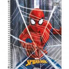 Caderno Esp Cd Univ 1m 96f Spider Man - Tilibra