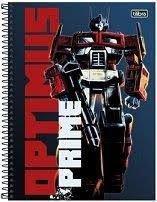 Caderno Esp Cd Univ 1m 96f Transformers - Tilibra