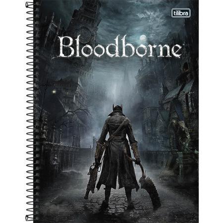 Caderno Esp Cd Univ 1m 80f Bloodborne - Tilibra