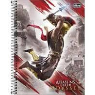 Caderno Esp Cd Univ 1m 80f Assassins Creed-tilibra