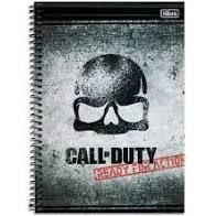 Caderno Esp Cd Univ 1m 80f Call Of Duty - Tilibra