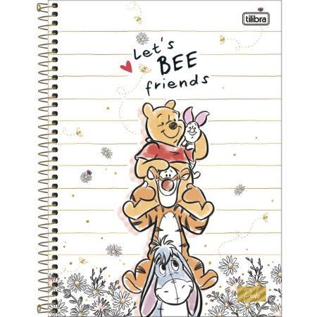 Caderno Esp Univ Cd 1m 80f Pooh - Tilibra