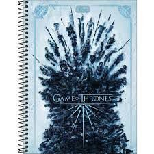 Caderno Esp Cd Univ 10m 160f Game Of Tr - Tilibra