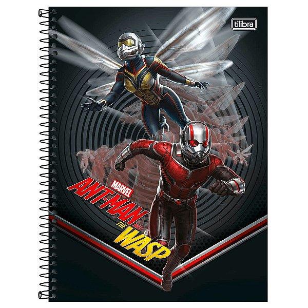 Caderno Esp Cd Univ 10m 160f Ant-man - Tilibra