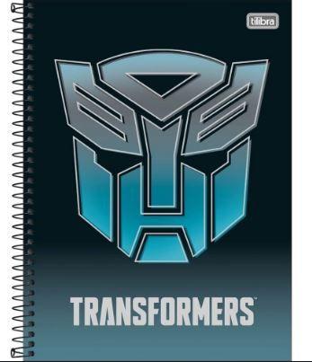 Caderno Esp Cd Univ 1m 80f Transformers F -tilibra