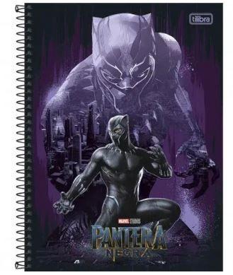 Caderno Esp Cd Univ 1m 80f Pantera Negra - Tilibra