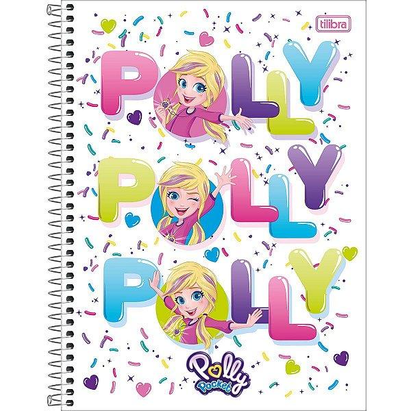 Caderno Esp Cd Univ 1m 80f Polly Pocket - Tilibra
